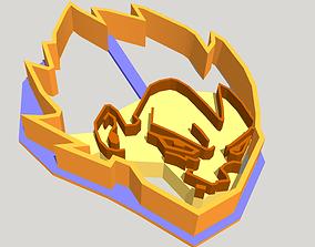 3D printable model Vegeta Dragon Ball Cookie Cutter