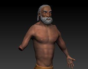Primal man 3D model