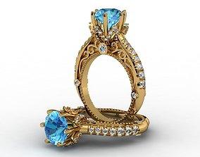 Beautiful Ring 3D printable model