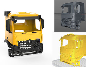 3D printable model Mercedes Benz Arocs 3245 Cabin