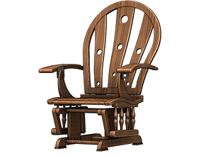 Relaxing and Meditation Chair 3D