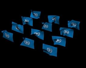 Union Flag wind 3D