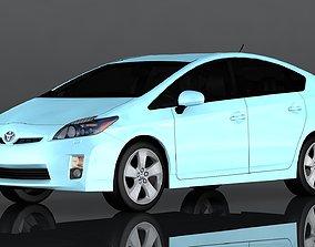 Toyota Prius 3D asset game-ready
