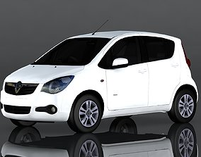Vauxhall Agila 3D model