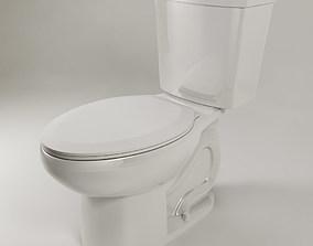 American Standard H2Option Dual Flush Toilet 3D
