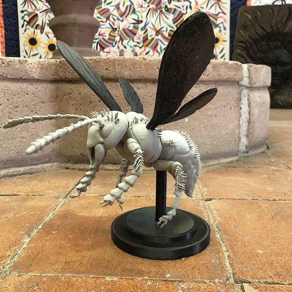 Murdering Asian Hornet 3D Print