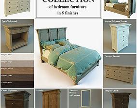 3D model STJames Collection of bedroom furniture