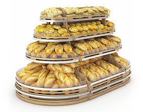 3D Bread Rack showcase