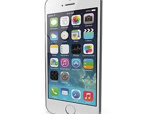 3D asset Apple iPhone 5s Silver