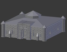 3D print model Bitlis islahiye medresesi - madrasah