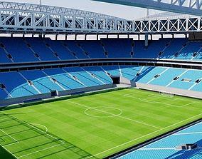 Krestovsky Stadium - Saint Petersburg - Russia 3D asset