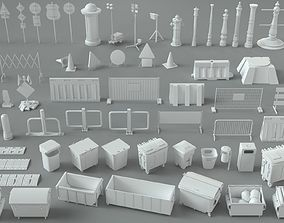 3D Environment Units-part-2 - 67 pieces