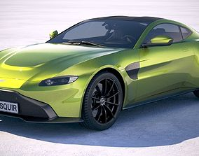 3D Aston Martin Vantage 2019
