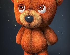 3D asset Cute Teddy