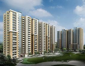 3D model Residential building 072