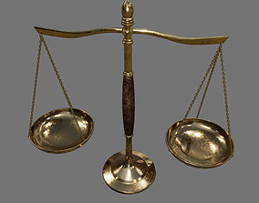 3D asset Old Scales