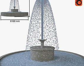 simulation 3D model Fountain
