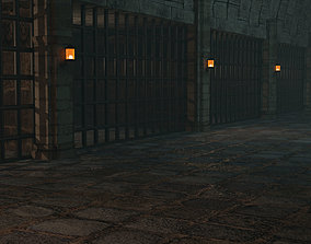 3D Medieval prison