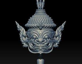 thai Asura mini Statue 3D printable model