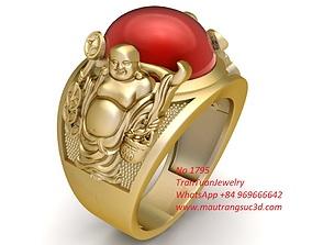 1795 Buddha Ring 3D print model