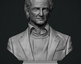 Sean Penn bust 3D print model
