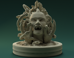 3D print model Medusa godness