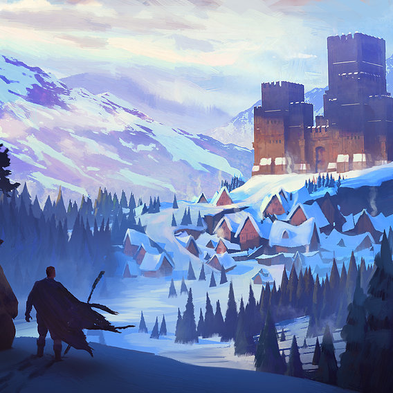 Winter castle discovery