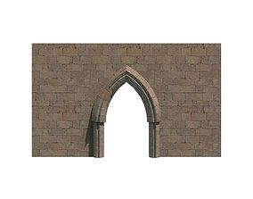 Stone Door 3D asset