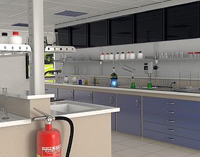 Chemistry lab 3D model
