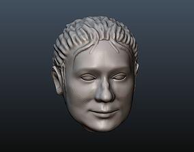 Woman Head 11 3D printable model