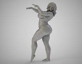 3D printable model girl Dancing In The Sand