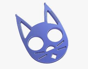 safety Brass knuckles pussycat 3D print model