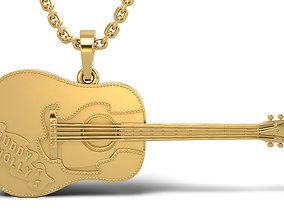 necklace 1943 Gibson J-45 2 versions 3D print model