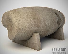 3D persian Cyrus Cylinder