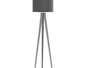 lightsource Black Floor Lamp 3D Model