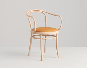 3D model Chair Bentwood Raw
