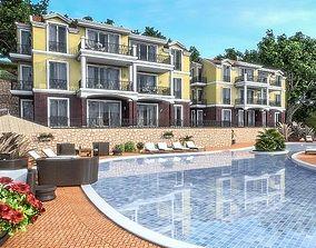 Housing Complex 3D asset