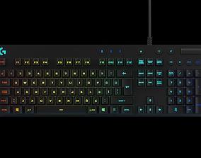 3D Logitech G810 Orion Spectrum Gaming Keyboard
