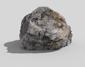 Detailed Rock 3D asset
