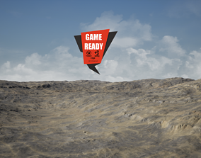 3D model Arid Land PBR GameReady