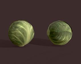 3D asset Cabbage