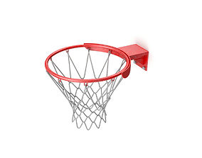 BasketBall Ring 3D model