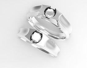 engagement ring rings 3D printable model