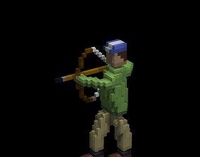 3D asset Archer