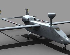 3D model UAV IAI Searcher