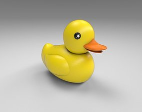 3D model game-ready Rubber duck