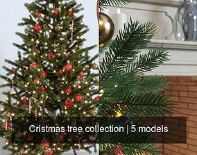 Cristmas tree collection 3D