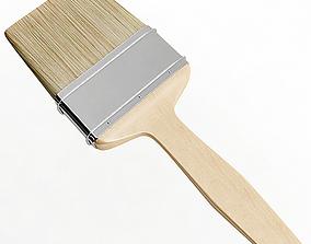 painting 3D model Paint Brush