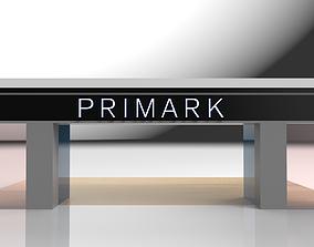 3D model Shop Front - Primark
