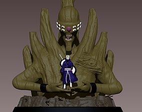3D printable model Obito Uchiha - NARUTO - the Ten Tails